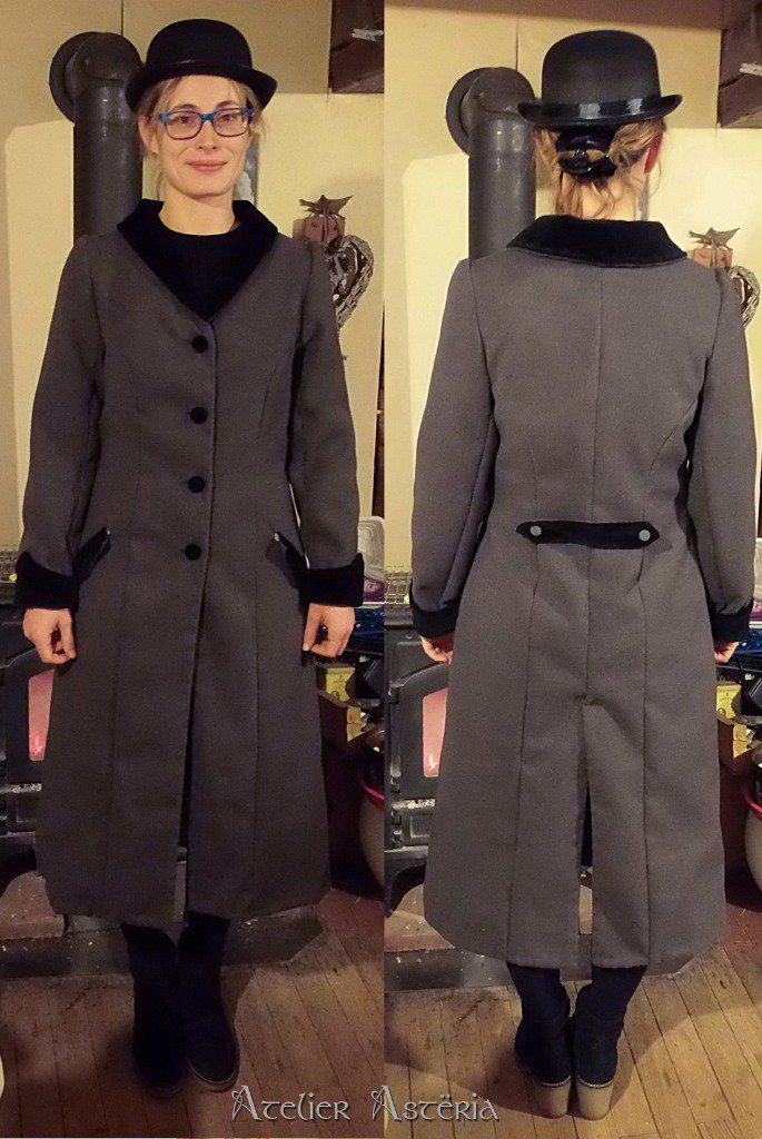 Manteau de Mary Poppins - Mary Poppins inspired coat