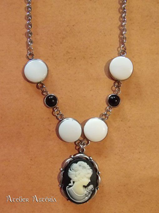 Peabody : Collier inspiration période victorienne / Victorian period inspired necklace