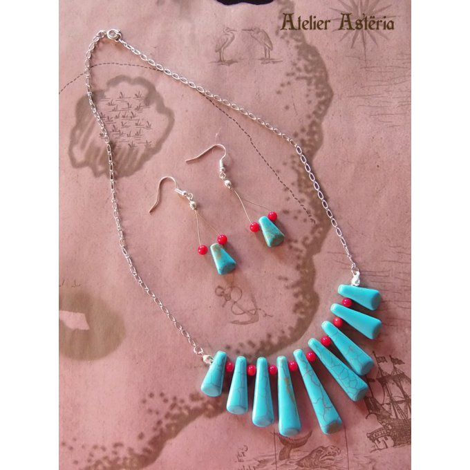 atelier_asteria-parure_ turquoise_corail_coral_pirate_egypte_antique-egyptian_antiquity_set-creation